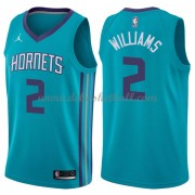 Charlotte Hornets Basketball Trikots 2018 Marvin Williams 2# Road Trikot Swingman..