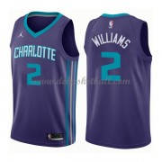 Charlotte Hornets Basketball Trikots 2018 Marvin Williams 2# Alternate Trikot Swingman..