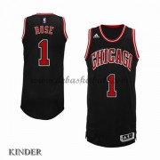 Basketball Trikot Kinder Chicago Bulls 2015-16 Derrick Rose 1# Alternate Swingman