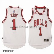Basketball Trikot Kinder Chicago Bulls 2015-16 Derrick Rose 1# Home Swingman
