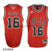 Basketball Trikot Kinder Chicago Bulls 2015-16 Pau Gasol 16# Road Swingman