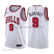 Basketball Trikot Kinder Chicago Bulls 2018 Antonio Blakeney 9# Home Swingman..