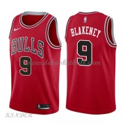 Basketball Trikot Kinder Chicago Bulls 2018 Antonio Blakeney 9# Road Swingman..