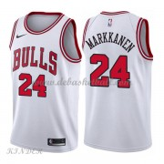Basketball Trikot Kinder Chicago Bulls 2018 Lauri Markkanen 24# Home Swingman..