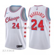 Basketball Trikot Kinder Chicago Bulls 2018 Lauri Markkanen 24# City Swingman..