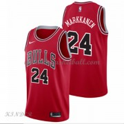 Basketball Trikot Kinder Chicago Bulls 2018 Lauri Markkanen 24# Road Swingman..