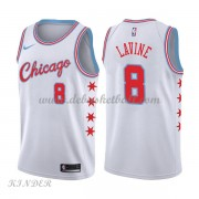 Basketball Trikot Kinder Chicago Bulls 2018 Zach Lavine 8# City Swingman..