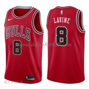 Basketball Trikot Kinder Chicago Bulls 2018 Zach Lavine 8# Road Swingman..