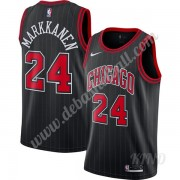 Basketball Trikot Kinder Chicago Bulls 2019-20 Lauri Markkanen 24# Schwarz Finished Statement Editio..