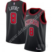 Basketball Trikot Kinder Chicago Bulls 2019-20 Zach Lavine 8# Schwarz Finished Statement Edition Swi..