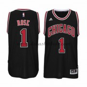 Herren Chicago Bulls NBA 2015-16 Derrick Rose 1# Alternate Basketball Swingman Trikot..