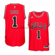 Chicago Bulls Basketball Trikots 2015-16 Derrick Rose 1# Road Trikot Swingman