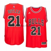 Herren Chicago Bulls NBA 2015-16 Jimmy Butler 21# Road Basketball Swingman Trikot..
