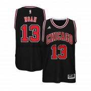 Chicago Bulls Basketball Trikots 2015-16 Joakim Noah 13# Alternate Trikot Swingman