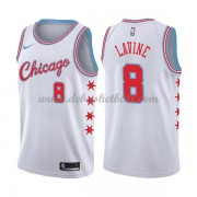Chicago Bulls Basketball Trikots 2018 Zach Lavine 8# City Swingman..