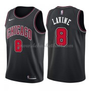 Chicago Bulls Basketball Trikots 2018 Zach Lavine 8# Alternate Trikot Swingman..