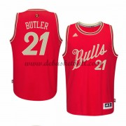 Herren Chicago Bulls 2015 Jimmy Butler 21# NBA Christmas Wars Basketball Swingman Trikot..