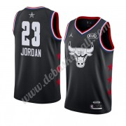 Chicago Bulls Basketball Trikots 2019 Michael Jordan 23# Schwarz All Star Game Swingman..