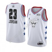 Chicago Bulls Basketball Trikots 2019 Michael Jordan 23# Weiß All Star Game Swingman..