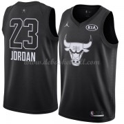 Chicago Bulls Basketball Trikots Michael Jordan 23# Black 2018 All Star Game Swingman..