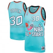 Chicago Bulls Basketball Trikots Scottie Pippen 33# Teal 1996 All Star Hardwood Classics Swingman..