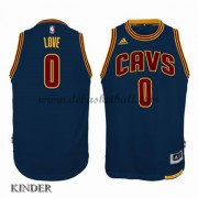 Basketball Trikot Kinder Cleveland Cavaliers 2015-16 Kevin Love 0# Navy Alternate Swingman