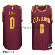 Basketball Trikot Kinder Cleveland Cavaliers 2015-16 Kevin Love 0# Road Swingman