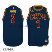 Basketball Trikot Kinder Cleveland Cavaliers 2015-16 Kyrie Irving 2# Navy Alternate Swingman