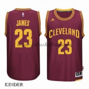 Basketball Trikot Kinder Cleveland Cavaliers 2015-16 LeBron James 23# Road Swingman..