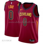 Basketball Trikot Kinder Cleveland Cavaliers 2018 Kevin Love 0# Road Swingman..