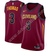 Basketball Trikot Kinder Cleveland Cavaliers 2019-20 Isaiah Thomas 3# Wein Icon Edition Swingman..