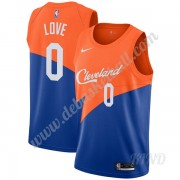 Basketball Trikot Kinder Cleveland Cavaliers 2019-20 Kevin Love 0# Blau City Edition Swingman..