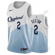 Basketball Trikot Kinder Cleveland Cavaliers 2019-20 Collin Sexton 2# Weiß Earned Edition Swingman..