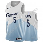 Basketball Trikot Kinder Cleveland Cavaliers 2019-20 J.R. Smith 5# Weiß Earned Edition Swingman..