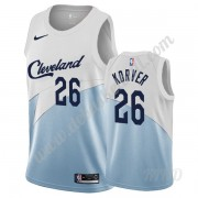 Basketball Trikot Kinder Cleveland Cavaliers 2019-20 Kyle Korver 26# Weiß Earned Edition Swingman..