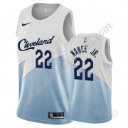 Basketball Trikot Kinder Cleveland Cavaliers 2019-20 Larry Nance Jr. 22# Weiß Earned Edition Swingma..