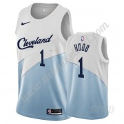 Basketball Trikot Kinder Cleveland Cavaliers 2019-20 Rodney Hood 1# Weiß Earned Edition Swingman..