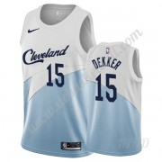 Basketball Trikot Kinder Cleveland Cavaliers 2019-20 Sam Dekker 15# Weiß Earned Edition Swingman..