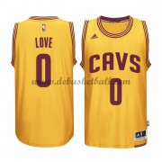 Cleveland Cavaliers Basketball Trikots 2015-16 Kevin Love 0# Gold Alternate Trikot Swingman