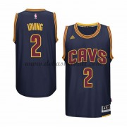 Cleveland Cavaliers Basketball Trikots 2015-16 Kyrie Irving 2# Navy Alternate Trikot Swingman..