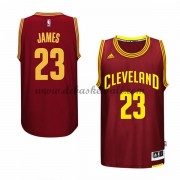 Herren Cleveland Cavaliers NBA 2015-16 LeBron James 23# Road Basketball Swingman Trikot..