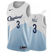 Cleveland Cavaliers Basketball Trikots NBA 2019-20 George Hill 3# Weiß Earned Edition Swingman..