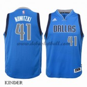 Basketball Trikot Kinder Dallas Mavericks 2015-16 Dirk Nowitzki 41# Road Swingman..