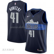 Basketball Trikot Kinder Dallas Mavericks 2018 Dirk Nowitzki 41# Alternate Swingman..