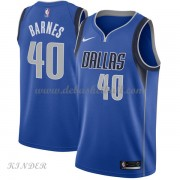 Basketball Trikot Kinder Dallas Mavericks 2018 Harrison Barnes 40# Road Swingman..