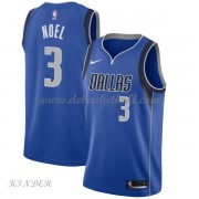 Basketball Trikot Kinder Dallas Mavericks 2018 Nerlens Noel 3# Road Swingman..