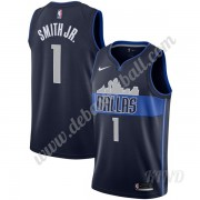 Basketball Trikot Kinder Dallas Mavericks 2019-20 Dennis Smith Jr 1# Marine Statement Edition Swingm..
