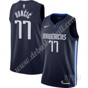 Basketball Trikot Kinder Dallas Mavericks 2019-20 Luka Doncic 77# Marine Finished Statement Edition ..