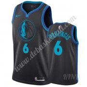 Basketball Trikot Kinder Dallas Mavericks 2019-20 Kristaps Porzingis 6# City Edition Swingman..