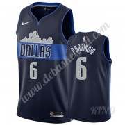 Basketball Trikot Kinder Dallas Mavericks 2019-20 Kristaps Porzingis 6# Marine Statement Edition Swi..